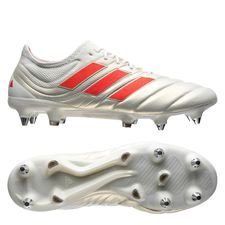 adidas Copa 19.1 SG Initiator - Wit/Rood