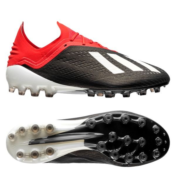 more photos e5711 dc0af adidas X 18.1 AG Initiator - Core Black Footwear White Action Red ...