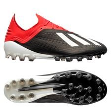 adidas x 18.1 ag initiator - core black/footwear white/action red - football boots