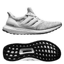 adidas ultra boost 4.0 - hvid/grå - løbesko