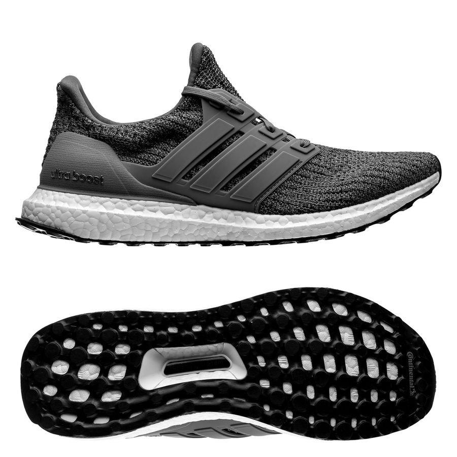 adidas Ultra Boost 4.0 - Grå/Sort thumbnail