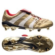 adidas Predator Accelerator ZZ Icon FG/AG - Gold Metallic/White/Navy LIMITED EDITION