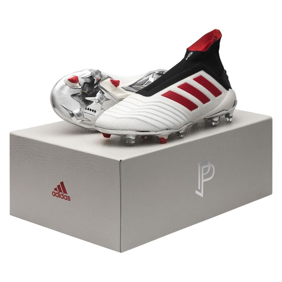 adidas Predator 19+ FGAG Paul Pogba Season 5 BlancRougeNoir ÉDITION LIMITÉE