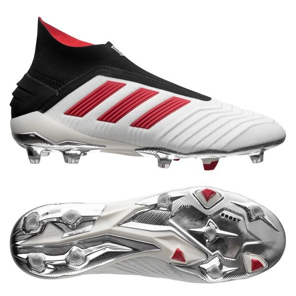 adidas Predator 19+ FGAG Paul Pogba Season 5 Footwear WhiteRedCore Black LIMITED EDITION