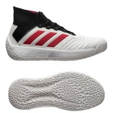 adidas Predator 19+ Trainer Paul Pogba Season 5 - Footwear White/Red/Core Black LIMITED EDITION