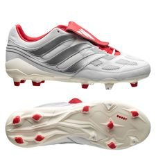 adidas Predator Precision DB Icon FG/AG - White/Silver Metallic/Red LIMITED EDITION