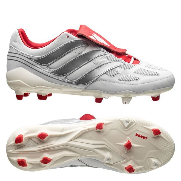 new concept 905ff 0972a 349.95 EUR. Price is incl. 19% VAT. -20%. adidas Predator Precision DB Icon  FG AG - White Silver Metallic Red LIMITED