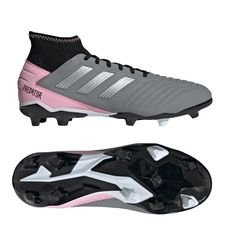 adidas Predator 19.3 FG/AG Exhibit - Black/Silver Metallic/Pink Women