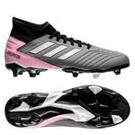 adidas Predator 19.3 FG/AG Exhibit - Schwarz/Silber/Pink Damen