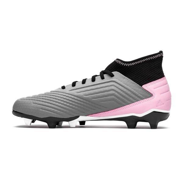Chaussures Adidas Predator 19.3 Femme FGAG Exhibit Rose