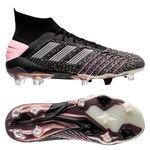 adidas Predator 19.1 FG/AG Exhibit - Zwart/Zilver/Roze Vrouw