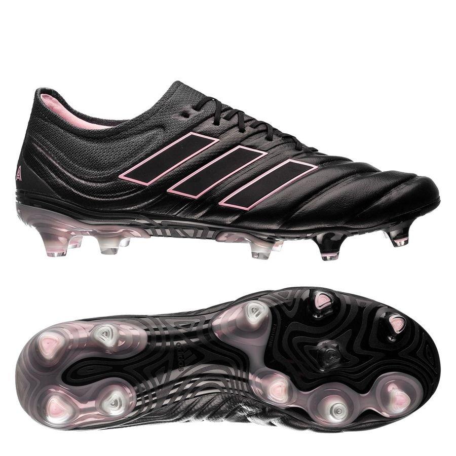 adidas Copa 19.1 FG/AG Exhibit - Sort/Pink Kvinde thumbnail