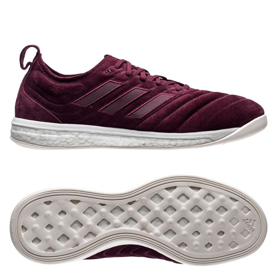 adidas Copa 19+ Indoor Trainer Boost - Bordeaux/Hvid LIMITED EDITION thumbnail