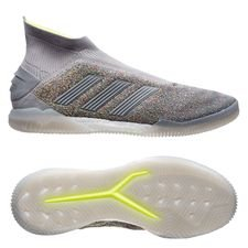 adidas Predator 19+ Trainer Celebration - Solid Grey/Solar Yellow LIMITED EDITION