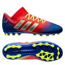 Image of   adidas Nemeziz Messi 18.3 AG Initiator - Rød/Sølv/Blå Børn