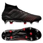 adidas Predator 19.1 SG Archetic - Core Black/Action Red