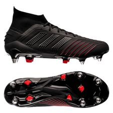 adidas Predator 19.1 SG Archetic - Core Black/Action Red