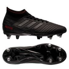 adidas Predator 19.3 SG Archetic - Core Black/Action Red
