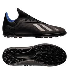 adidas X Tango 18.3 TF Archetic - Core Black/Bold Blue Kids