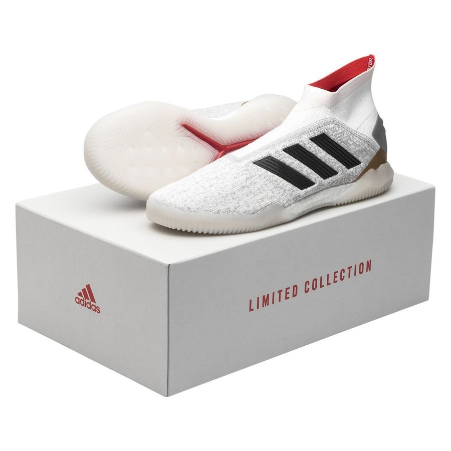 adidas Predator 19+ Trainer ZZ & DB Icon HvitNavyRød LIMITED EDITION