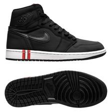 Air Jordan 1 Retro Jordan x PSG - Schwarz/Rot LIMITED EDITION