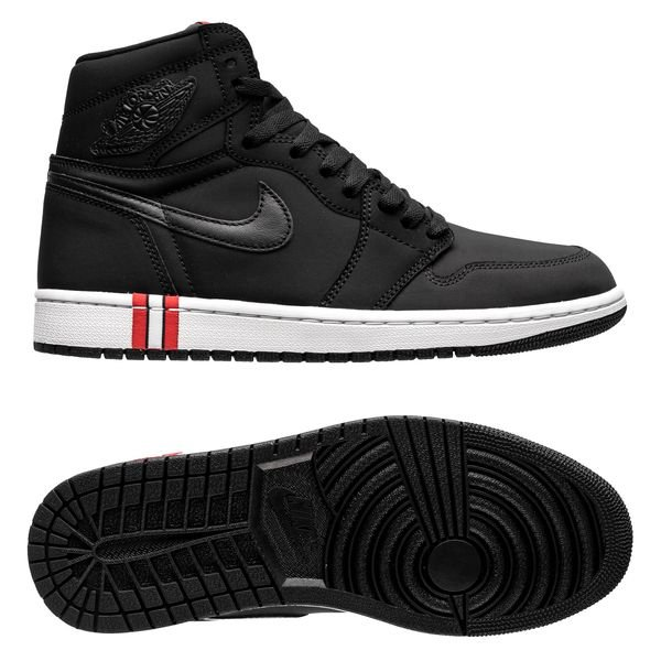 on sale b1982 5f989 ... discount code for air jordan 1 retro jordan x psg sort rød limited  edition sneakers 43015