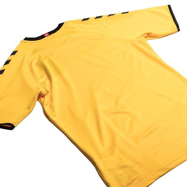 087717e7283 ... danmark målmandstrøje 2016/17 k/æ - gul - fodboldtrøjer