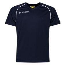 diadora maillot madrid - bleu marine/blanc enfant - maillots de football