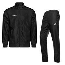 Diadora Trainingsanzug - Schwarz/Weiß