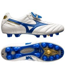 Mizuno Morelia II Made in Japan FG Wave Cup - Blanc/Bleu