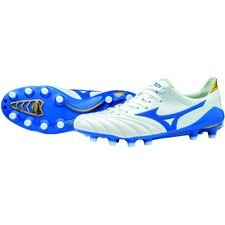 Mizuno Morelia Neo II Made in Japan FG Wave Cup - White/Blue