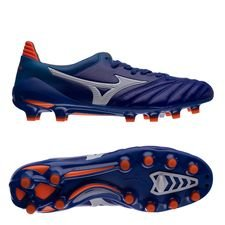 Mizuno Morelia Neo II Made in Japan FG - Blauw/Wit/Oranje