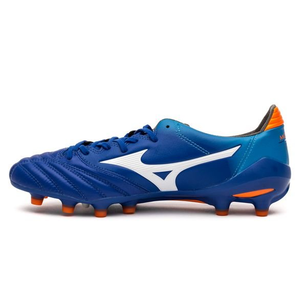 on sale 4f338 d49ab Mizuno Morelia Neo II MD FG - Blå/Vit/Orange