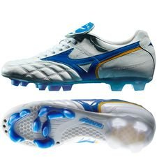 Mizuno Wave Cup Legend FG - White/Blue LIMITED EDITION PRE-ORDER