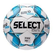 Select Fotboll Brillant Super TB Eliteserien - Vit/Navy