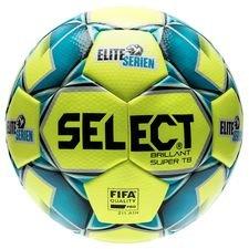 Select Fotboll Brillant Super TB Eliteserien - Gul/Navy