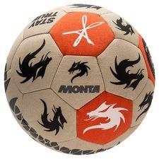 Monta Fotboll FreeStyler - Beige/Orange