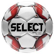 Select Fotboll Brillant Super Mini - Vit/Röd Barn