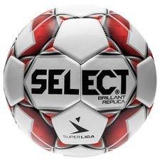 Select Fotboll Brillant Replica Superliga - Vit/Röd