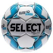 Select Fotball Brillant Replica Eliteserien - Hvit/Navy