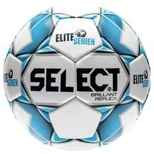 Select Fotboll Brillant Replica Eliteserien - Vit/Navy