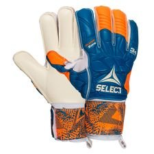 Select Torwarthandschuhe 34 Protection - Orange/Blau/Weiß