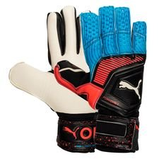 PUMA Keepershandschoenen One Grip 1 IC Power Up - Zwart/Blauw/Rood
