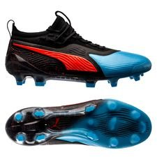 PUMA One 19.1 FG/AG Power Up - Bleu Azur/Red Blast/PUMA Black
