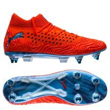 PUMA Future 19.1 Netfit SG Power Up - Rouge/Bleu PRÉ-COMMANDE