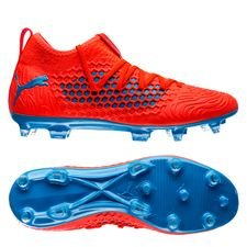 PUMA Future 19.3 Netfit FG/AG Power Up - Rouge/Bleu