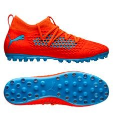 PUMA Future 19.3 Netfit MG Power Up - Rood/Blauw