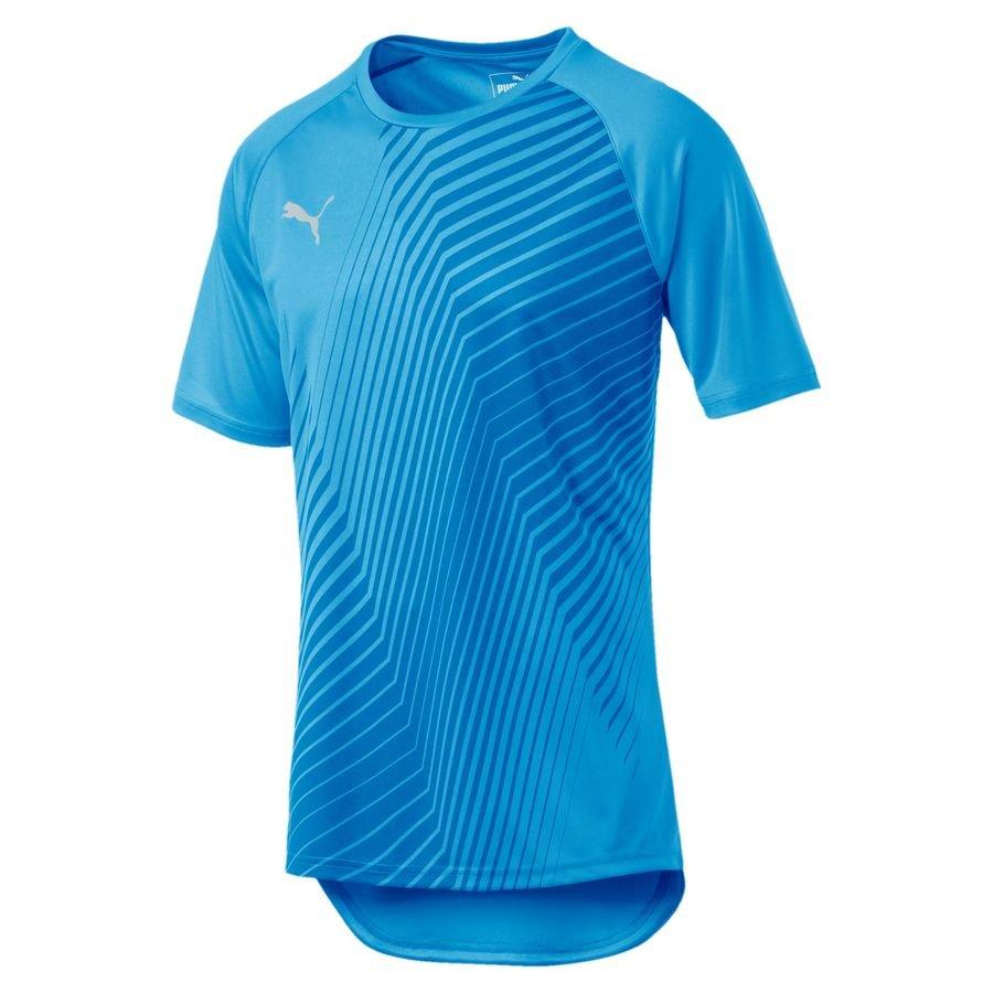 PUMA Trænings T-Shirt ftblNXT Graphic Core - Blå/Rød Børn thumbnail