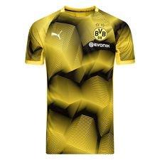 Dortmund Tränings T-Shirt Graphic - Gul/Svart