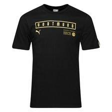 Dortmund T-Shirt Fan - Svart/Gul